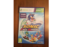 Sonic Free Riders for XBox 360 Kinect