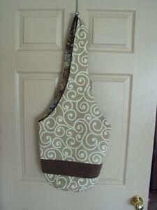 """Sling Bag / Cross Body Bag, New, Strap to bottom of bag 34"""""""