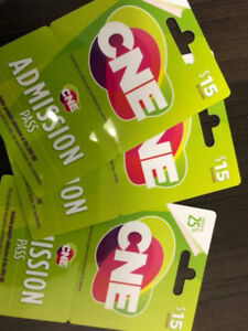 CNE Entry Gift Cards