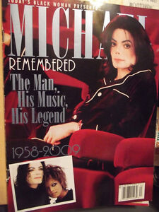 Michael Jackson Remembered Magazine-Collector's issue