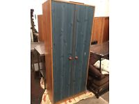 Two Door Wardrob for sale good clean condition £45 free delivery
