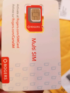 ROGERS SIM card with $400 CREDIT