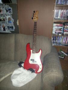 Fender Squire Precision Bass & Amp
