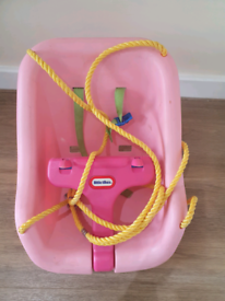 Little Tikes Pink Swing