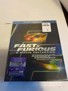 Fast and Furious DVD Box set