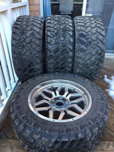 """20"""" Nitto Trail Grappler Tires"""