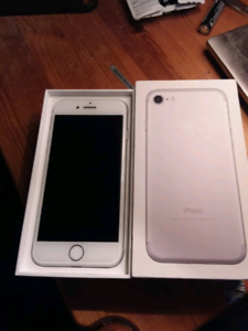 In trade for a black iPhone 7