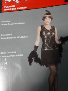 Stunning 1920s Complete Flapper Outfit