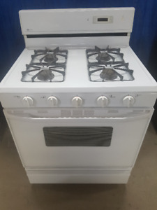 """Maytag White 30"""" Gas Range ( AS NEW CONDITION)"""