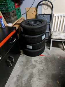 For Sale: 4 Michelin IceXi3 Winter Tires (Used 1 season) w/ Rims