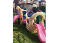 8 in 1 little tikes climbing frame