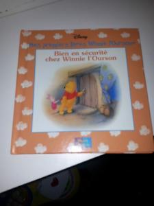 Lot de 25 livres Disney winnie l ourson, collections de livres