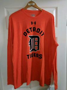 Under armour Detroit tigers shirt xxl