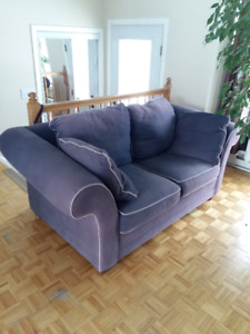 sofa, love seat, dining table and 4 chairs for sale..650$ total