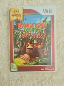 Donkey Kong Country Returns Wii game