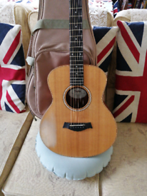 Taylor GS mini acoustic guitar.