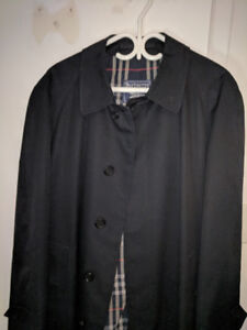 Burberry Trench Coat -  Size L (long)