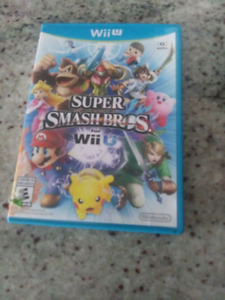 Super Smash Bros. For Wii U In really good condition