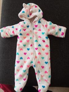 Super soft bunting suit (Children's Place)