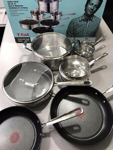 Jamie Oliver by T-Fal 10-piece Cookware Set Pot and Pans Regina Regina Area image 5