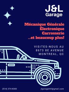 J&L Garage: votre garagiste de confiance à Montreal!