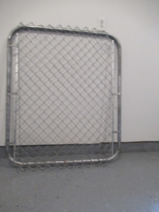 NEW CHAIN LINK GATE