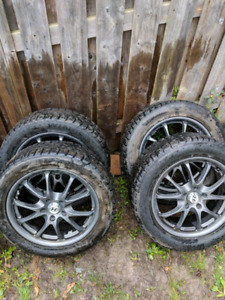 225/55R17 WINTER TIRES with Rims