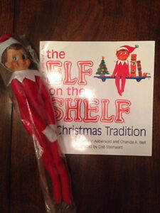 Elf on the shelf with soft cover book St. John's Newfoundland image 4