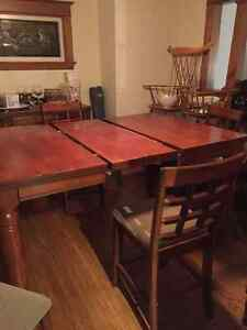 Counter Height Dining Room Table and Chairs Oakville / Halton Region Toronto (GTA) image 2