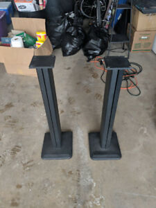 31 inches tall Speaker Stands