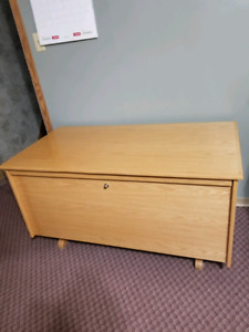 For sale beautiful solid hope chest