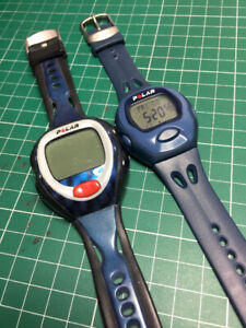 Polar heart rate monitors (watches only)