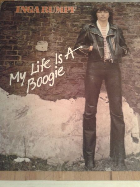 Inga Rumpf ‎– My Life Is A Boogie lp 78