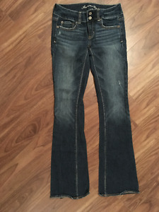 Jeans AMERICAN EAGLE gr 0 XS extensibles