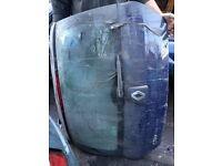 Renault clio boot lid and door