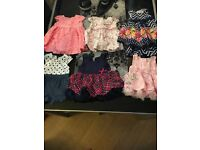 Baby girl dresses for sale first size/ 0/3 months. All for 15£