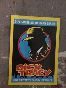 COMPLETE O-pee-chee movie card series - Dick Tracy London Ontario image 2