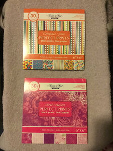 Forever in Time Scrapbooking Sheets x 2 ($15.00 EACH)