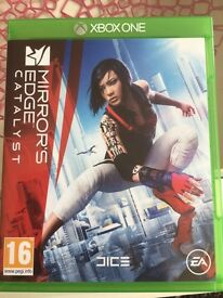 Mirrors edge for Xbox 1