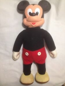 Authentic Vintage Marching Mickey Mouse From Disney