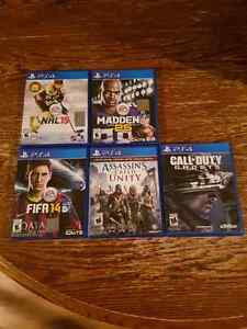 PS4 Games - cheap or trade