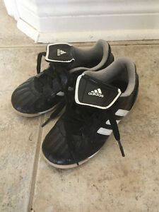 Adidas indoor soccer shoes, kids size 11