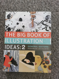 Big Book of Illustrations Ideas 2, New Mint For Artists/ Illustrators