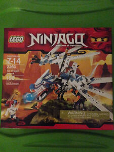Lego BNISB 2260 Ice Dragon Attack.  Rare and Retired