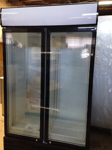1 or 2 or3 glass door refrigerator