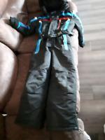 Boys 7/8 one piece Snowsuit
