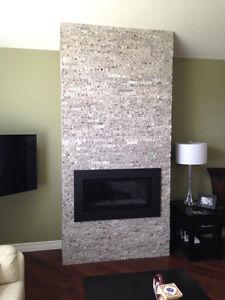 Split-stone Granite veneers for kitchens or feature walls London Ontario image 8