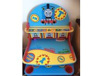 Thomas the tanks engine desk and stool