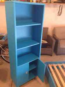 Bookcase and bed frame