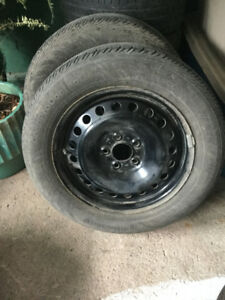 summer tires 215 55 r16 with rims